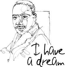 Pin Martin Luther King Clipart Jr Silhouette Printable 3