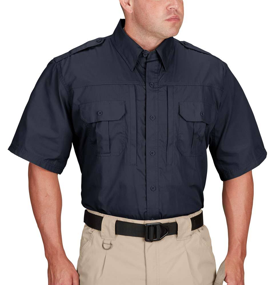 Propper Men's Tactical Shirt - Short Sleeve - LAPD Navy