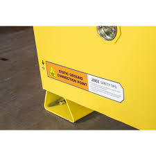 Flammable Safety Cabinet 30 Gallon by Jobox 1 853990 Jobox 30 Gallon Heavy Duty Safety Cabinet Yellow