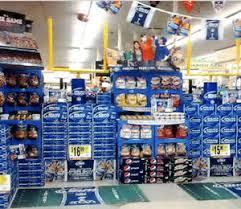 Super Bowl In Store Beverage Displays Score Big