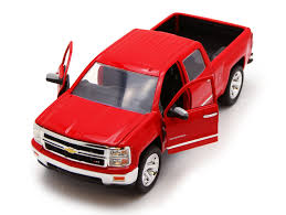 Buy Chevy Silverado Pickup Truck, Red - Jada Toys Just Trucks 97018 ...