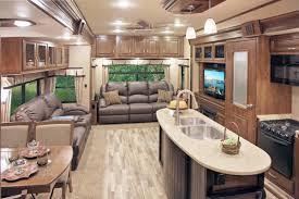 Luxury Rv Interior Explore Fifth Wheel Campers Motorhome And More