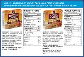 Calories In Granola Bars