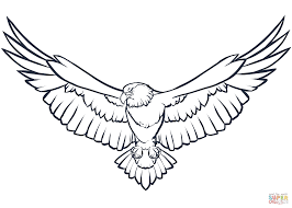 Click The Bald Eagle Coloring Pages To View Printable Version Or Color It Online Compatible With IPad And Android Tablets