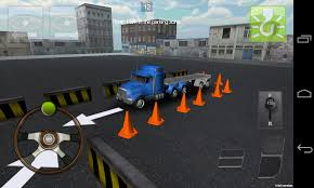 100 Truck Parking Games 3D Game Experience