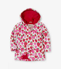 strawberry sundae girls raincoat hatley us