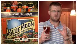 Sam Adams Harvest Pumpkin Ale Vs Oktoberfest by Blue Moon Harvest Pumpkin Ale Review Youtube