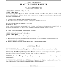 100 Local Truck Driver Jobs Resume Sample Resume Resume Examples For In