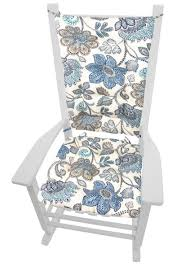 Rocking Chair: Boutique Blue Floral Porch Rocker Cushions Latex Foam ... Danish Modern Rocking Chair Light Grey Upholstery For Inspiring Design Ideas On The Balcony Stock Image Of Background Bluegreenpainted Porch Sale Number 3023t Christopher Knight Home 301988 Bethany Mid Century Fabric Walnut Katell Vida Living Carla Chairlight Wildridge Heritage Double Traditional Rocker Cult Stanley In Dark Erland Gray Durogreen Classic Durogreen Outdoor