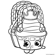 Cute Shopkins Season 8 Coloring Pages Printable