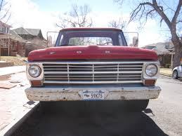 Down On The Mile High Street: 1969 Ford F-100 - The Truth About Cars Untitled 1 M2 Machines Auto Trucks Release 42 64 1965 Ford Falcon Club Wagon Truck Modification Ideas 89 Stunning Photos Design Listicle This Is What A Stored Truck Front Looks Like For You Guys 1945 Pickup The Hamb Industrial 100cm X 57cm Vtg Austin Txusa April 17 2015 A 1954 At Lonestar Ford Pickup 4907px Image 194042 American Gas Pinterest Gas 194247 And Trucks 56 F100 Pick Up Cars Bench Seat Covers Lovely Pact