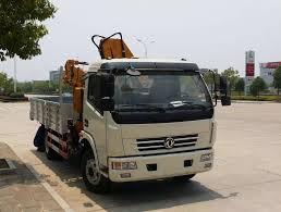 100 Pickup Truck Crane China Dongfeng 4X2 Mini Mounted With 3 Tons