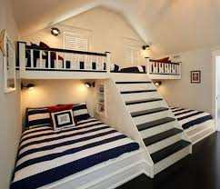 Kids Room For Our Tiny House I Love The Semiprivate Separate Beds And Maybe Play