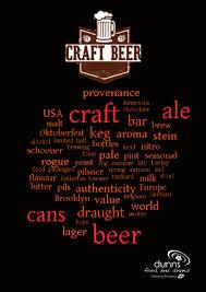 Brooklyn Pumpkin Ale by Dunns Food And Drinks Craft Beer Brochure September 2015