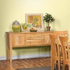 Amish Natural Cherry Dining Room Sideboard