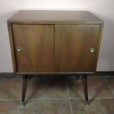 Antique Record Cabinet