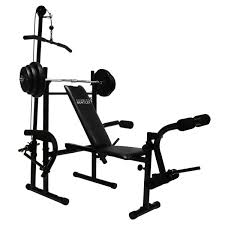 AllInOne Home Gym Including Barbell Weights