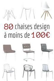 chaise de cuisine design chaise design pas cher 80 chaises design