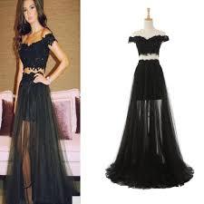 tulle prom dresses celebrity dresses off shoulder prom