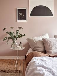 dusty pink bedroom walls coco lapine design schlafzimmer