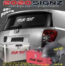 100 Truck Window Decal Custom Vinyl Lettering Car Satisfaction