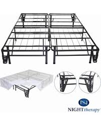 Platform Metal Bed Frame by Spectacular Deal On Night Therapy Platform Metal Bed Frame