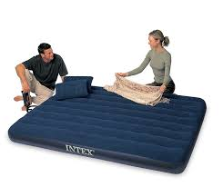 Aerobed Queen Air Bed With Headboard by Home U0026 Garden Inflatable Mattresses Airbeds Find Offers Online