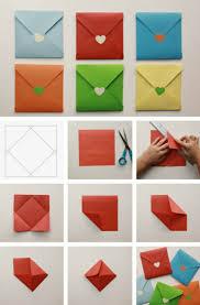 Brief Falten Kleiner Umschlag