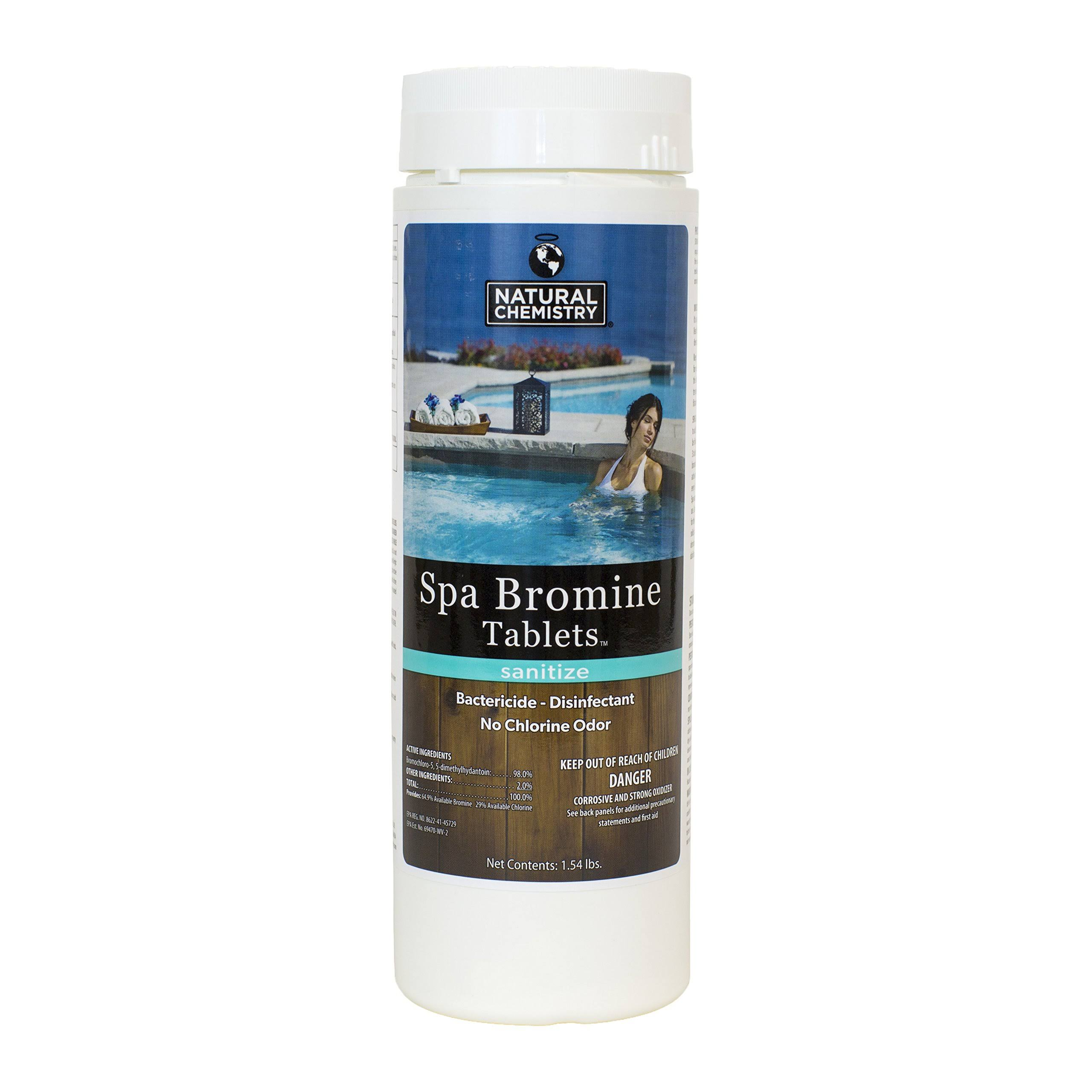 Natural Chemistry Spa Bromine Tablets - 1.54 Pounds