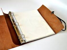 Decorative Small 3 Ring Binders by Leather Binder Details Our Original Woodsman 3 Ring Binder Is
