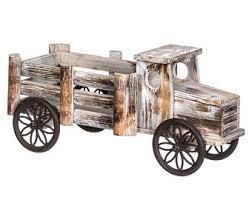 Wooden Planter Truck GardenGarden PotsWooden Crate BoxGarden DecorWooden