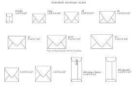 Standard Size Letter Envelope Letters Font Standard Letter