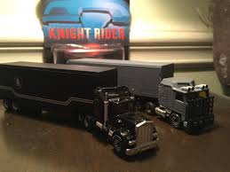 100 Knight Rider Truck Custom Semi AND Goliath Tractor Trailer Retro