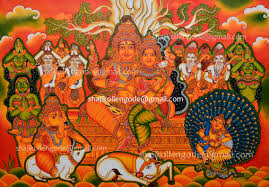 Famous Kerala Mural Artists by Mural Painting Images Reverse Search