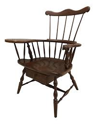 Pennsylvania House Comb Back Windsor Writing Chair | Chairish 307 Best Windsor Chairs Images On Pinterest Windsor Og Studio Colt Low Back Counter Stool Contemporary Ding Shawn Murphy Wood Cnections Llc Custom Woodworking And 18th C Continuous Arm Bow Armchair At 1stdibs Lets Look At The Chair Elements Of Style Blog High Rejuvenation Chairs Great 19thc Fruitwood High Back Armchair In Sold Archive Hand Crafted Comb Rocking By Luke A Barnett Childrens Writing Rockers Products South Fork Windsors