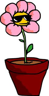 image vectorielle gratuite fleur plantes pot plante en pot