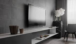 tv wand im wohnzimmer effektvoll gestalten durch akzentwand