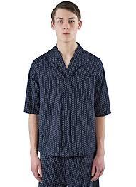 Abasi rosborough Men s Arc Desert Short Sleeved Striped Shirt In