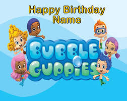 Bubble Guppies Cake Decorating Kit by Bubble Guppies Cake Etsy