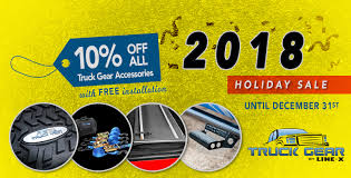 Holiday Sale: 10% Off ALL Truck Gear Accessories With FREE ...