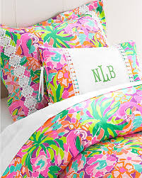 Lilly Pulitzer Sister Florals Duvet Covers and Shams