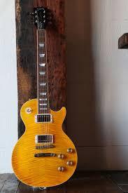 100 Gibson Custom Homes Les Paul Standard Amber W Cherry Candy Back