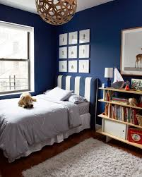 A CUP OF JO Our Brooklyn Apartment Benjamin Moore Symphony Blue Paint Color Tyler Likes This Wall