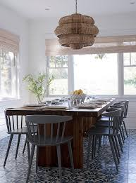 Amazing Spacious Windsor Dining Room Chairs On Wood Table With Modern Gray Designs
