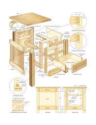 woodworking plans desk hutch lesson fundamentals computer free