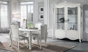 wohnzimmer set viola in weiß silber klassische