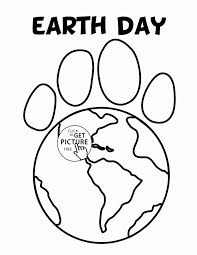 Printable Coloring Pages Earth Day Free For Kids Page Pics