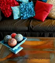 Best Decorating Blogs 2014 by Make The Best Of Things Painted Decor Balls For My Coffee Table