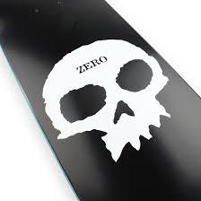 zero skateboards single skull 775 deck black 02 supereight net