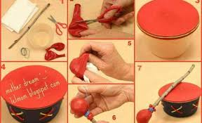 To Make A Toy Drum For Your Kids Its Not So Complicated As You Think This DIY Idea Is Quite Simple And It Will Only Take Around 20 Minutes